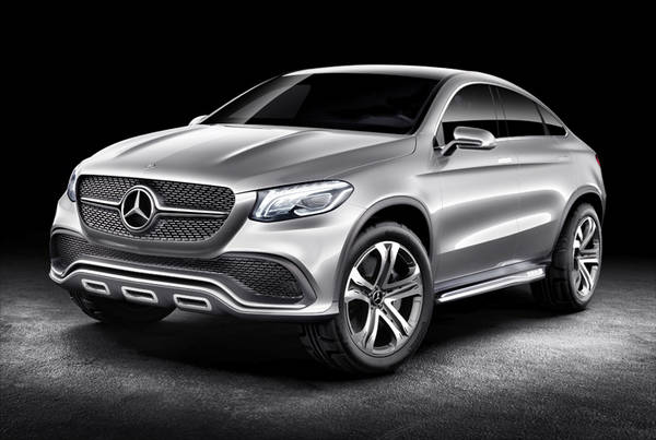 MERCEDES-BENZ SUV COUPe CONCEPT