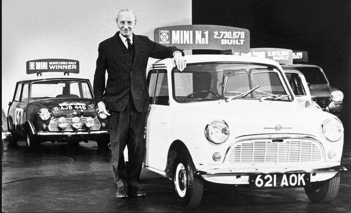 Alec-Issigonis with Mini