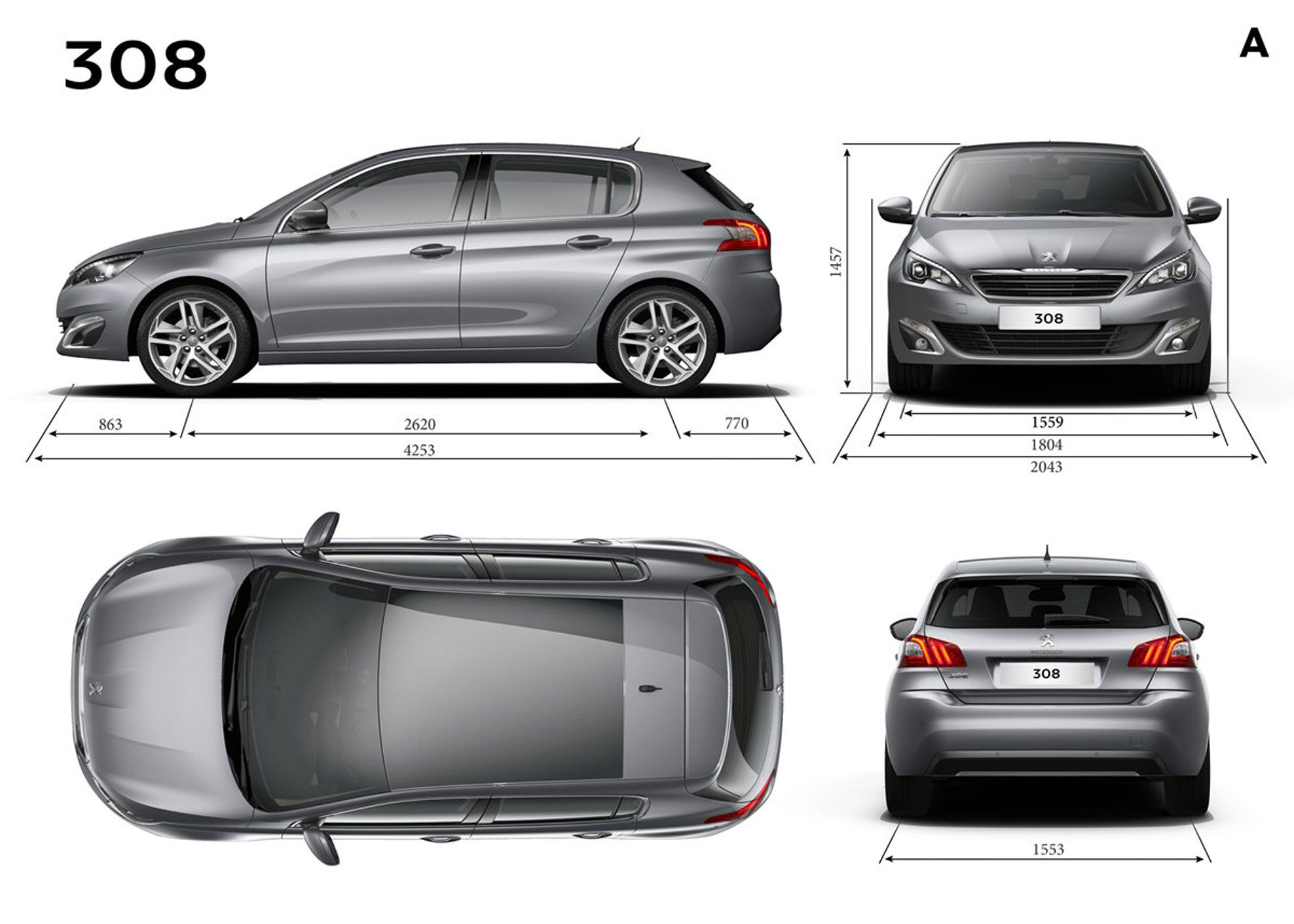 Automotivedesignclub International New Peugeot 308 Is
